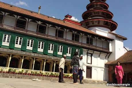 Durbar Square Courtyard, Kathmandu, Nepal